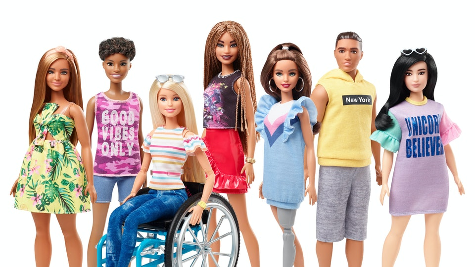 The New Barbie Fashionistas 2019 Line Is More