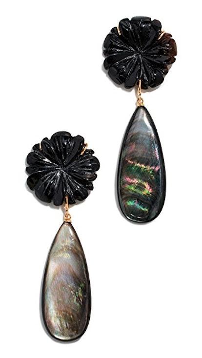 Lizzie Fortunato Night Bloom Earrings