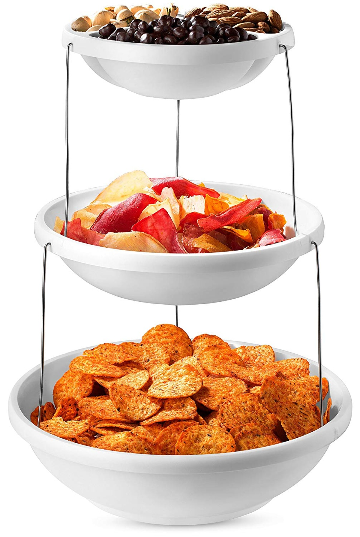 Masirs Collapsible Tier Bowls