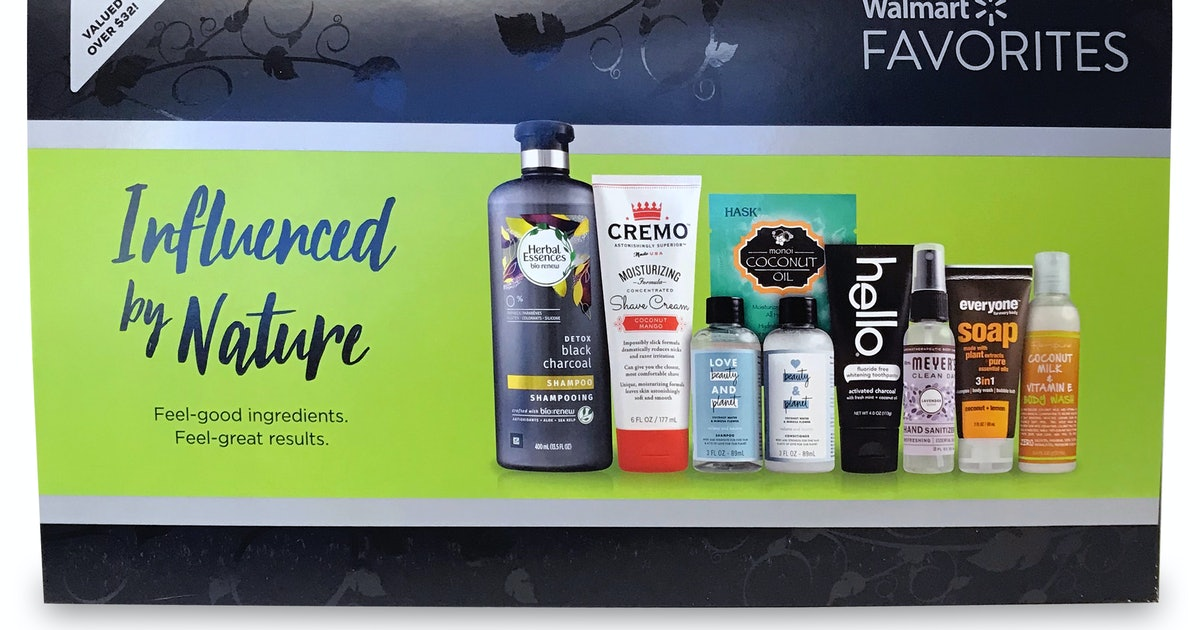 Influenced By Nature Walmart Beauty Box