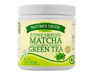 Nature's Truth Stone Ground Matcha Green Tea