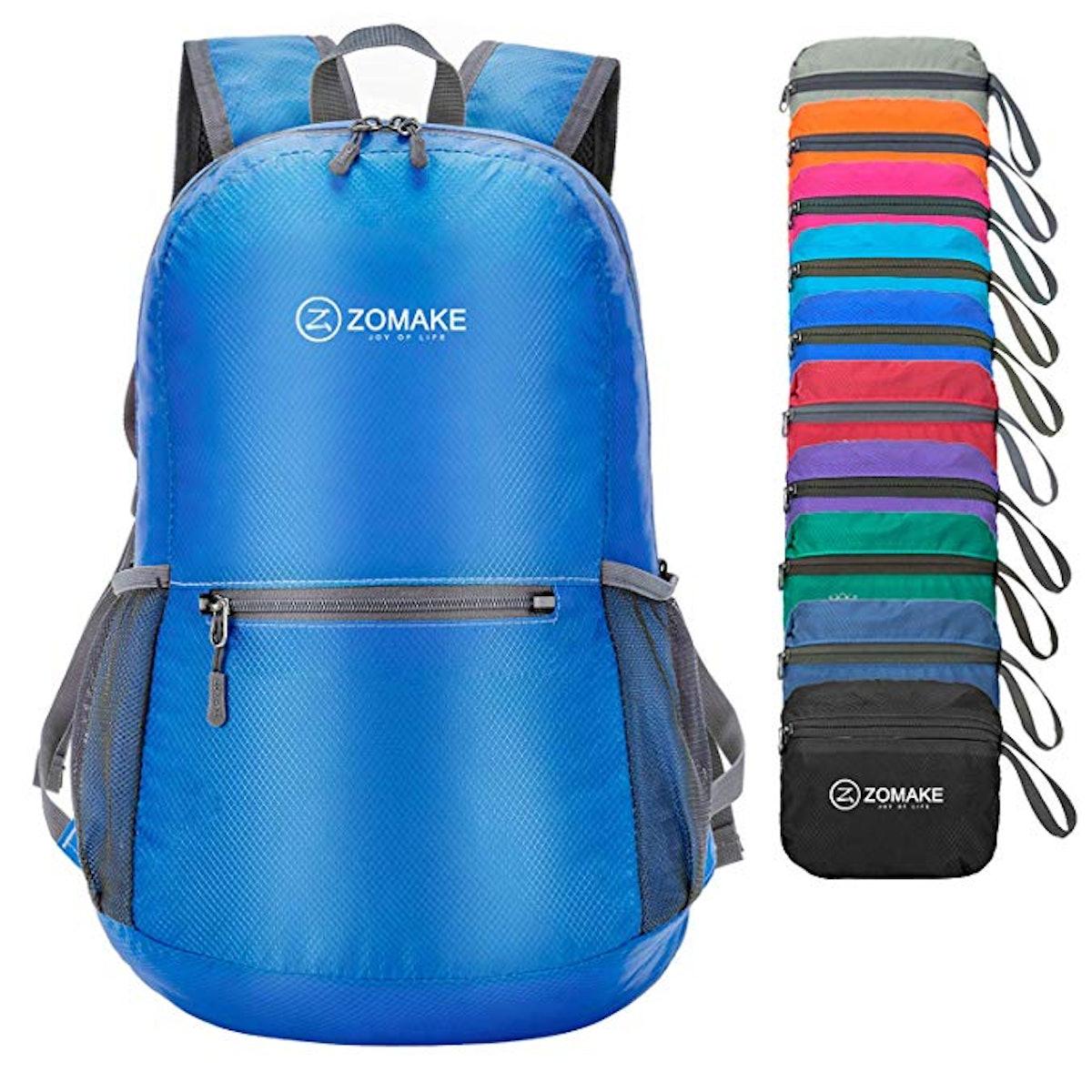 ZOMAKE Ultra Lightweight Packable Backpack