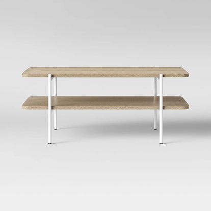 Project 62™ - Mandelin Wood/Metal Coffee Table Natural/White