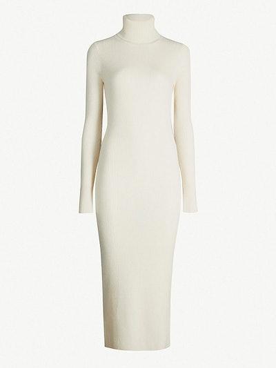 Sofia turtleneck cashmere dress