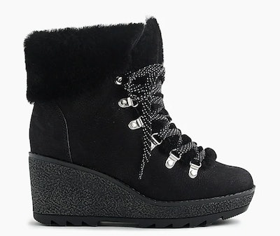 Nordic Wedge Boots