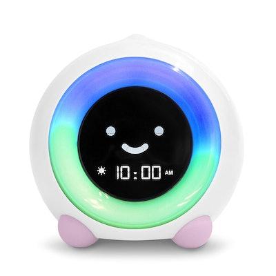 LittleHippo Mella Ready to Rise Children's Sleep Trainer, Alarm Clock, Night Light and Sleep Sounds Machine