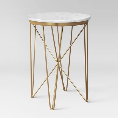 Project 62™ - Marble Top Round Table Gold