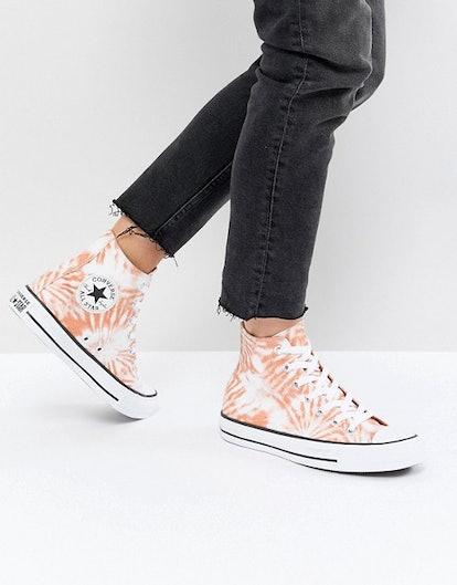 Converse Chuck Taylor All Star Hi Sneakers In Tie Dye