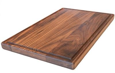 Virginia Boys Kitchens Walnut Cutting Board, 17 x 11 inches
