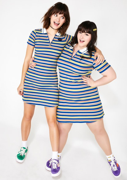 dELiA*s by Dolls Kill MY HIGH SCHOOL SWEETHEART POLO DRESS