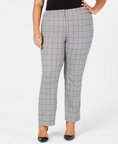 Menswear Plaid Pants
