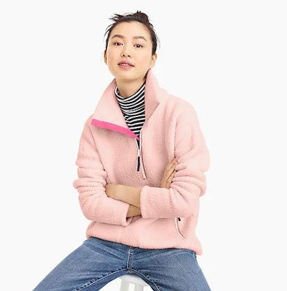 Polartec Fleece Half-Zip Pullover Jacket