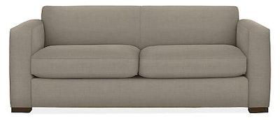 """Ian 81"""" Guest Select Queen Sleeper Sofa in Total Linen"""