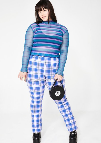 dELiA*s by Dolls Kill MY DEAR DIARY PLAID PANTS