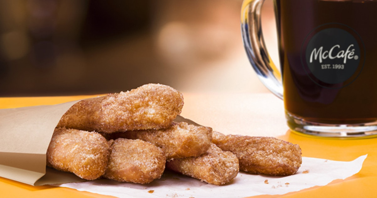McDonald's Is Officially Releasing Those Rumored Donut Sticks, So Get Hungry