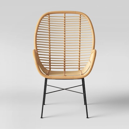 Opalhouse™ - Lily Rattan Arm Chair with Metal Legs