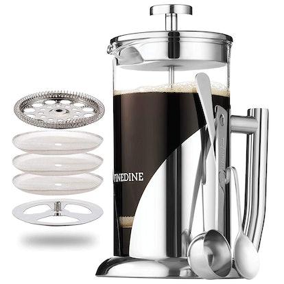 FINEDINE French Press Coffee Maker