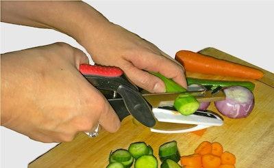 Szresm 2-In-1 Food Chopper With Cutting Board