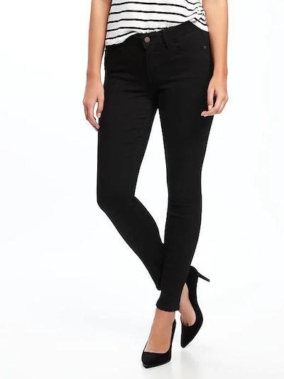 Mid-Rise Skinny Rockstar Jeans
