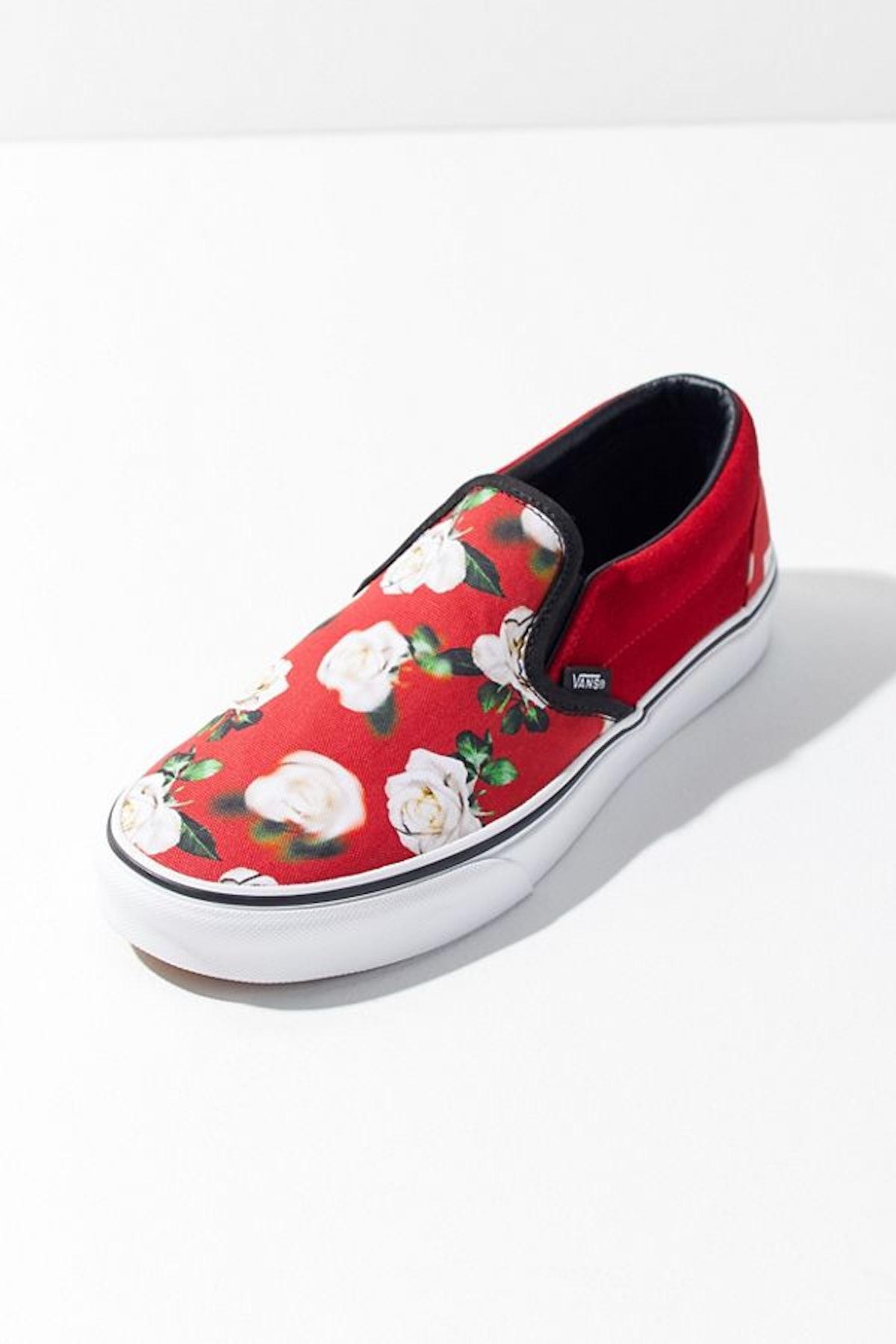 Vans Blurred Floral Slip-On Sneaker