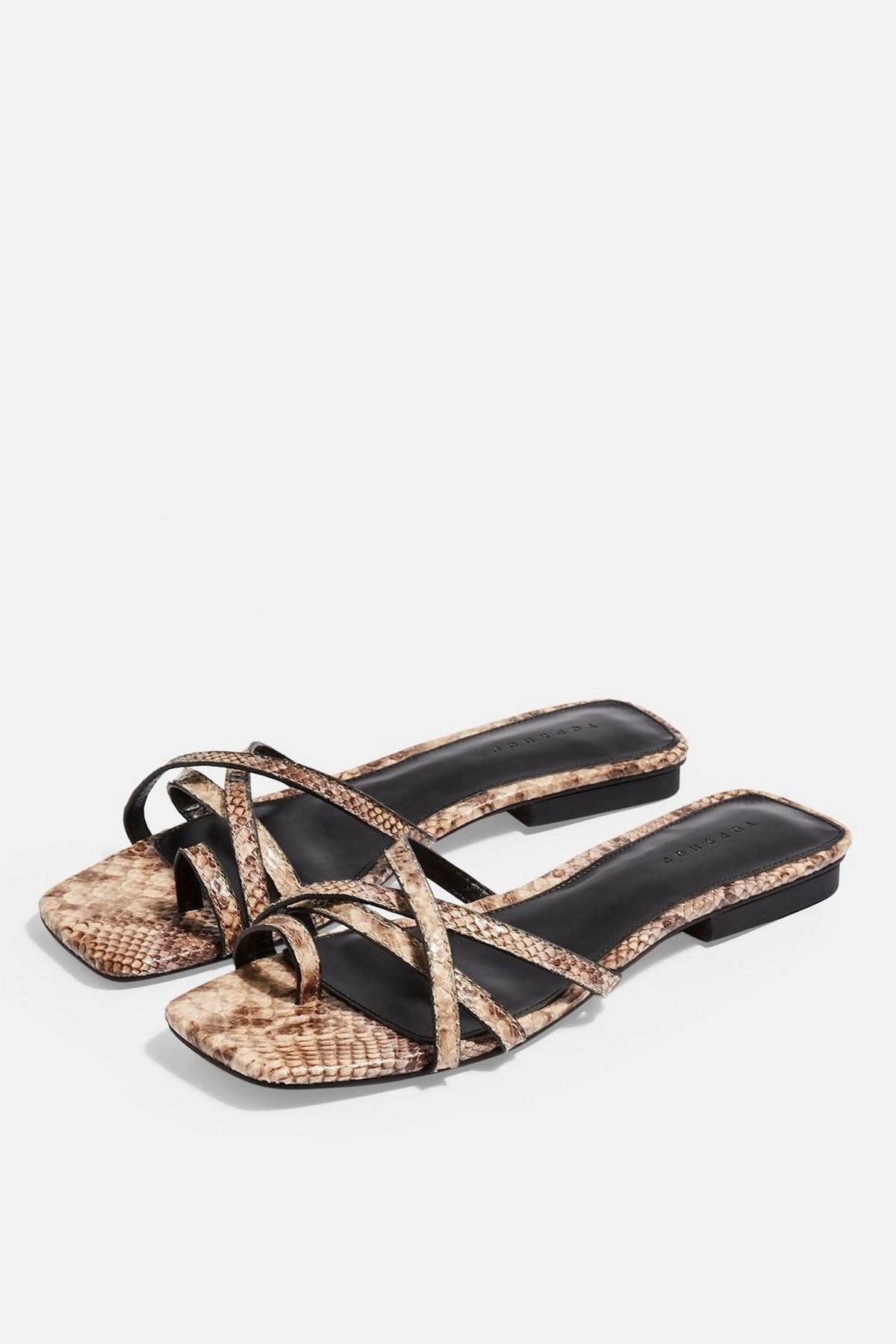 HIPPIE Flat Sandals
