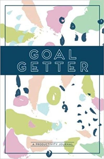 Modern Script Designs Goal Getter Productivity Journal