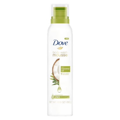 Body Wash Mousse with Coconut Oil