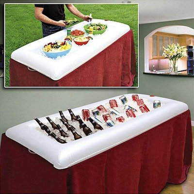 Cool Downz Inflatable Ice Serving Buffet