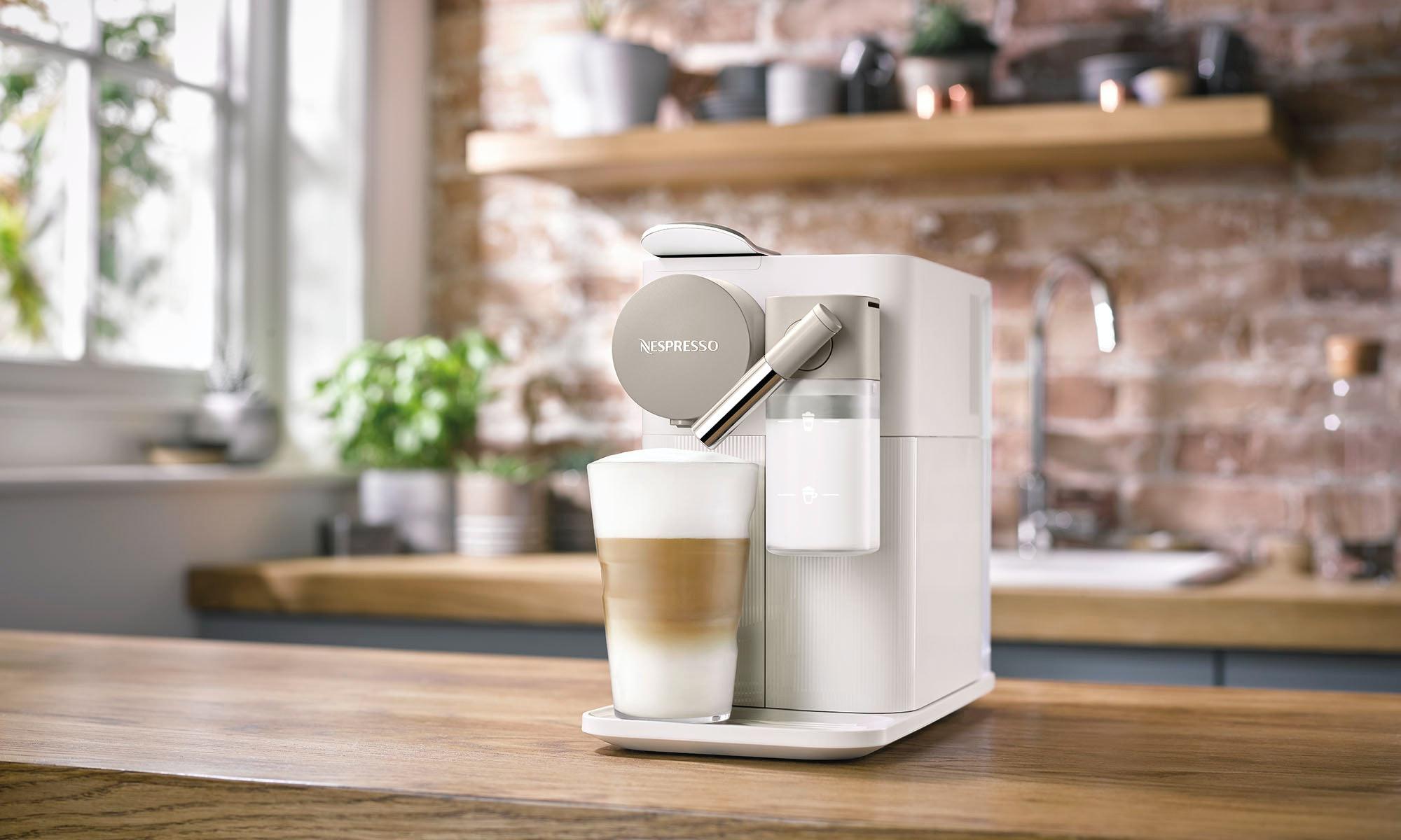 Perfect latte nespresso