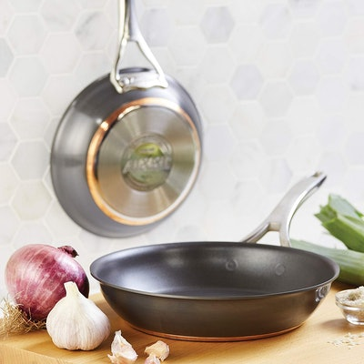 Anolon Non-Stick Copper 8- And 10-Inch Skillets