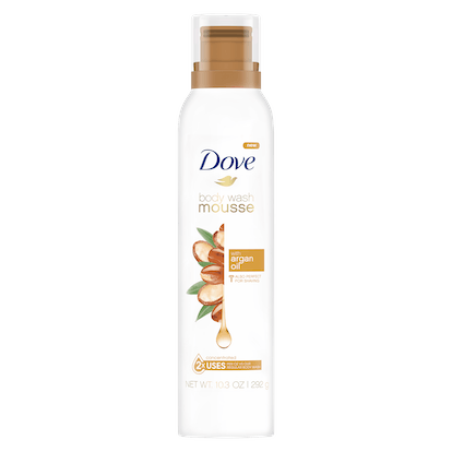 Body Wash Mousse with Argan Oil