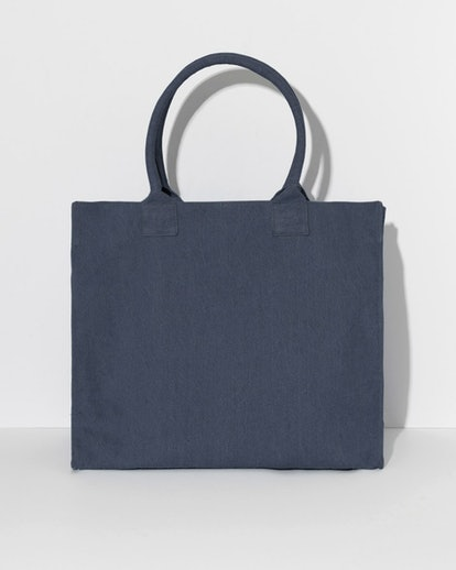 Washed Canvas Relaxed Tote