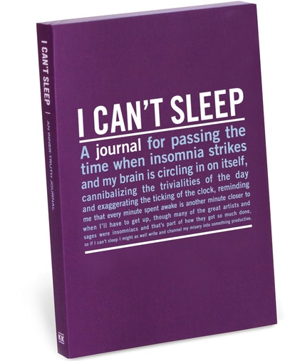 Knock Knock I Can't Sleep Journal