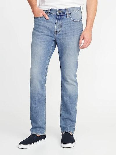 Men's Straight Rigid Jeans