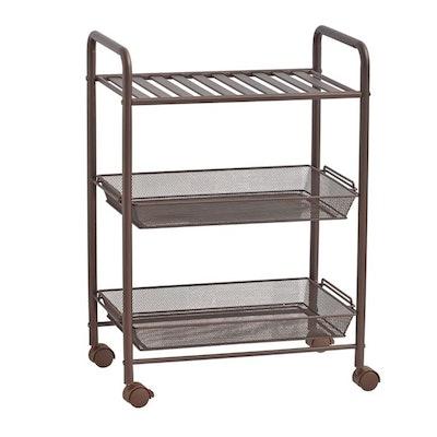 SALT™ 3-Tiered Bathroom Cart in Oil Rubbed Bronze