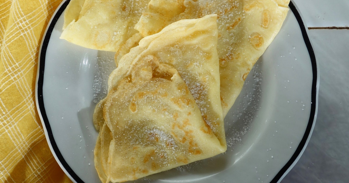 This Crepe Recipe For One Person Will Move Your Brunch Game To New Levels