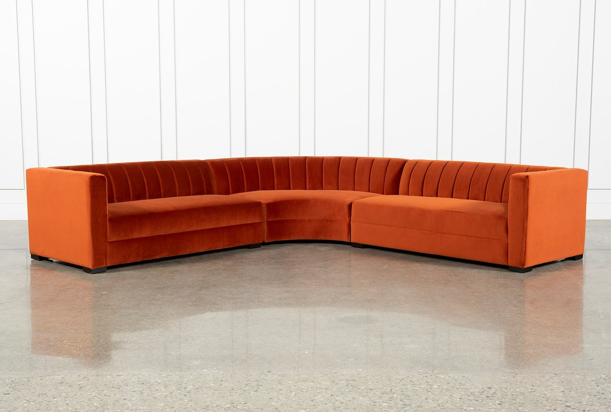 Soane 3 Piece Sectional By Nate Berkus And Jeremiah Brent