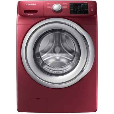 Samsung High Efficiency Stackable Front-Load Washer (Merlot) ENERGY STAR