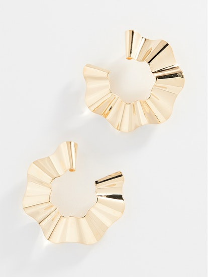 Large Ravioli Earrings