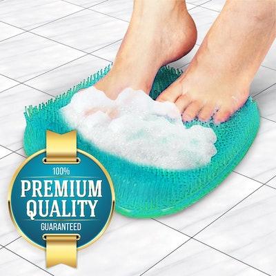 Eutuxia Shower Foot Scrubber