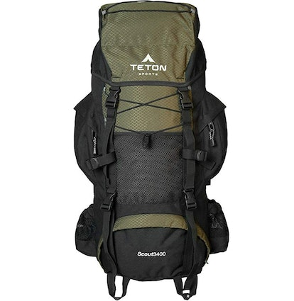 TETON Sports Scout 3400 Internal Frame Backpack for Backpacking