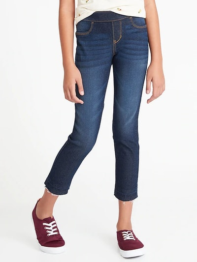 Old Navy Let-Down Hem Pull-On Crops