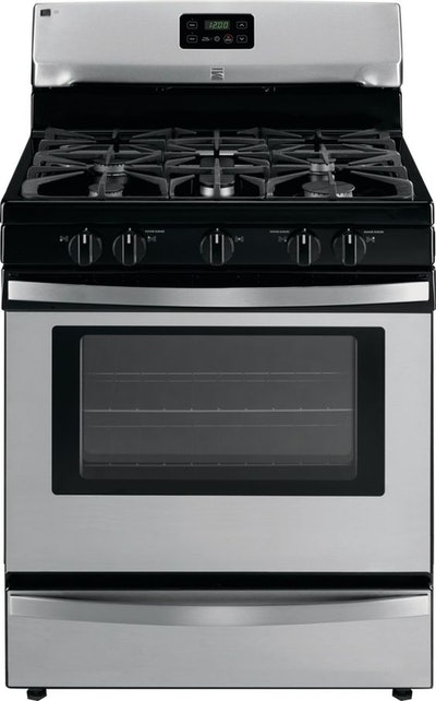 Kenmore Gas Range with Broil & Serve Drawer