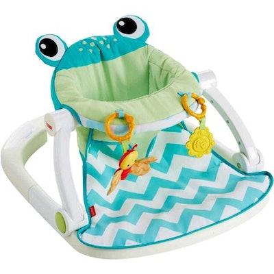 Fisher Price Sit-Me-Up Floor Seat, Citrus Frog