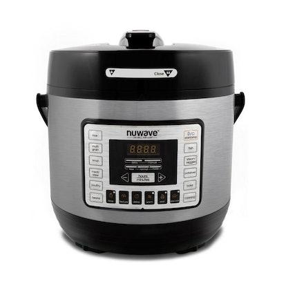 NuWave® 6-Quart Electric Pressure Cooker in Black
