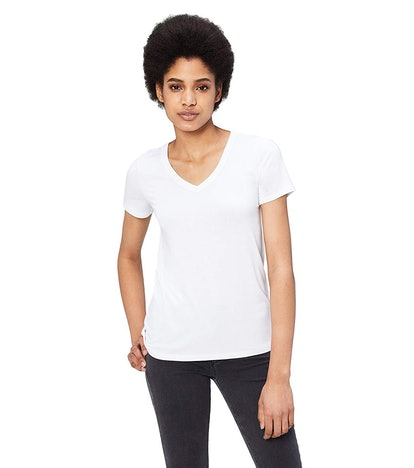 Daily Ritual Women's Short-Sleeve V-Neck T-Shirt