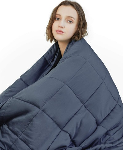 YnM 15-Pound Weighted Blanket