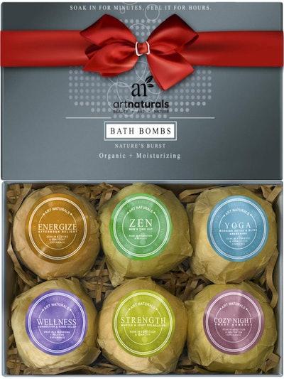 ArtNaturals Bath Bombs (6 Pack)