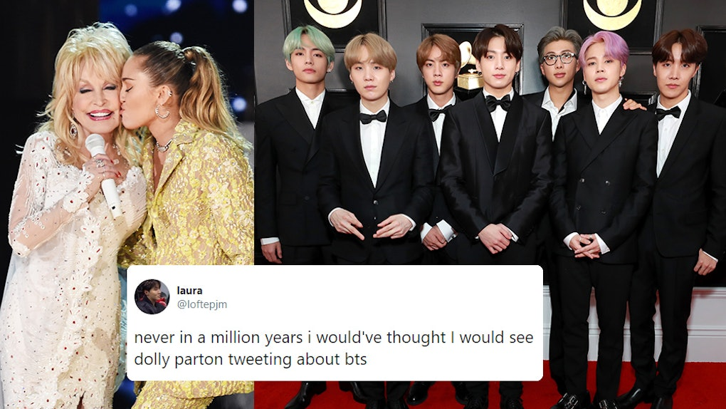Dolly Parton's Instagram Shoutout To BTS Highlights The
