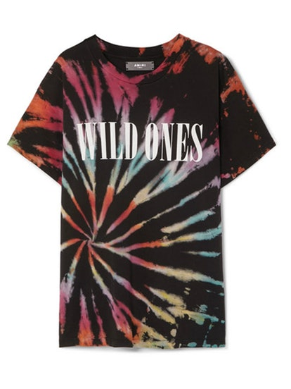 Wild Ones Printed Tie-Dyed Cotton-Jersey T-shirt